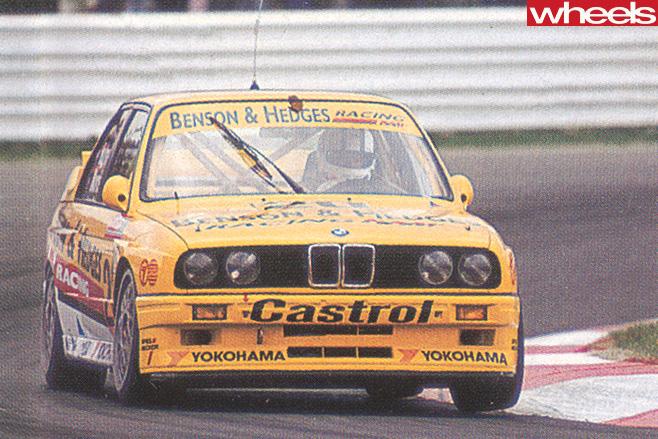 Bathurst 1992 BMW Racing