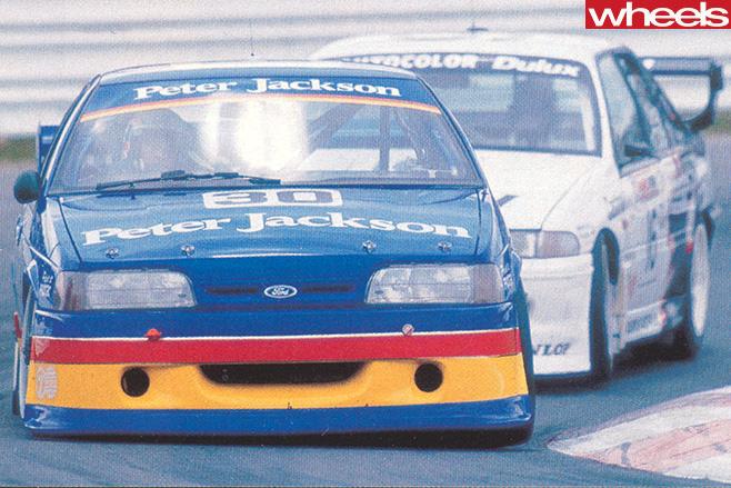 Bathurst 1992 Nissan -Skyline -GT-R-cars -driving