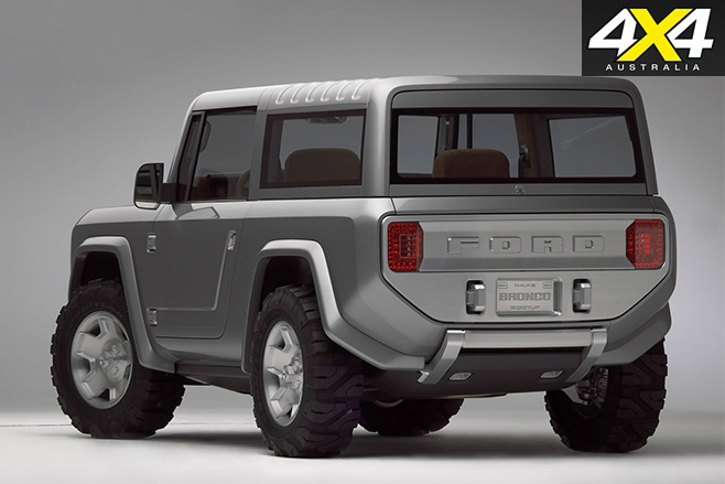 Ford Bronco 2004 concept rear