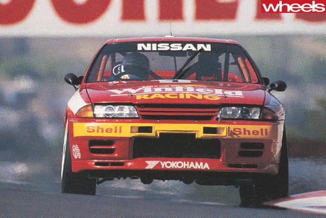Bathurst 1992 Nissan -Skyline -GT-R-grille