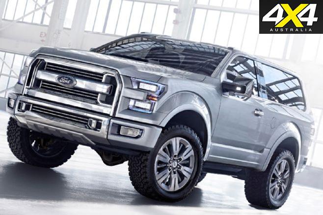 2016 Ford SVT Bronco concept