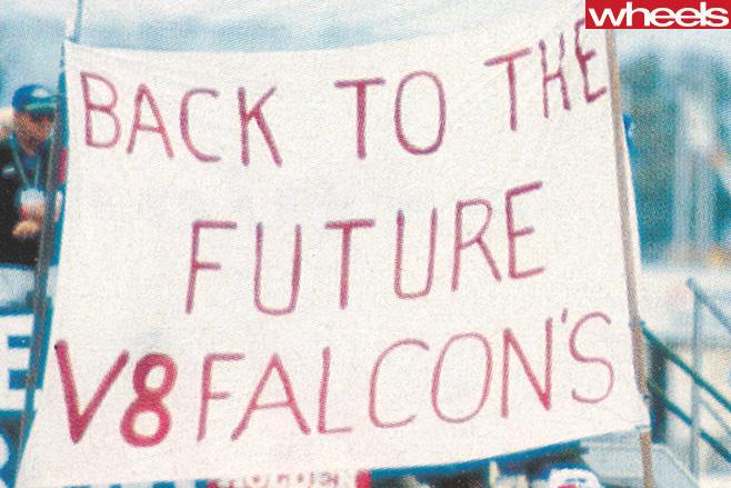 Bathurst 1992 V8 Falcons
