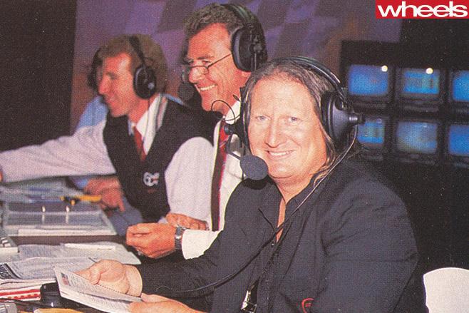 Bathurst 1992 Nissan -Skyline -GT-R-announcers