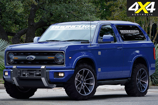 2020 Ford Bronco B6G concept