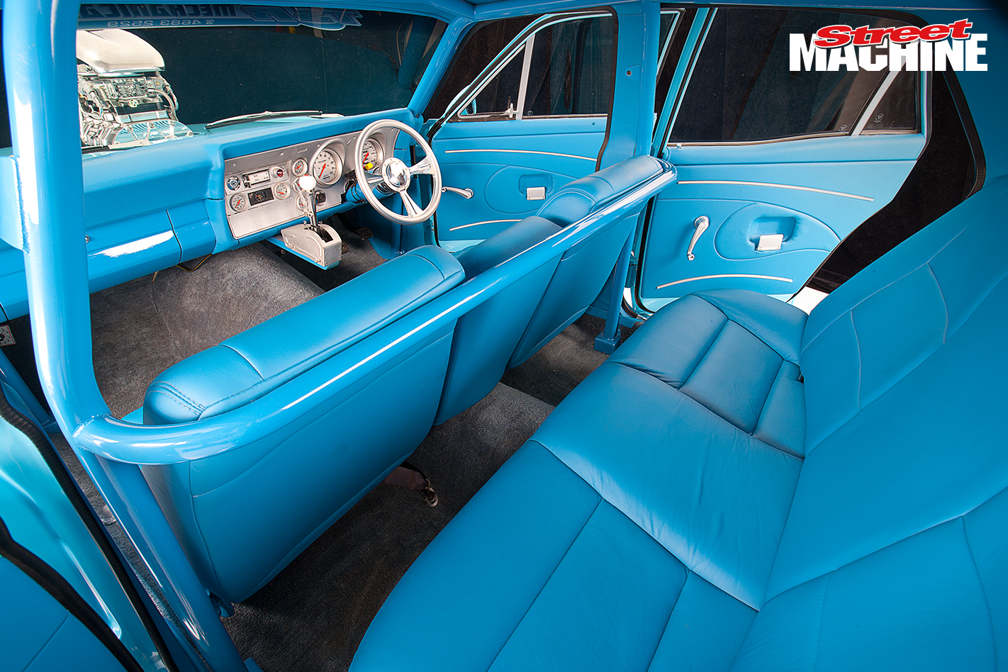 Ford XY Falcon Blown 383 Interior