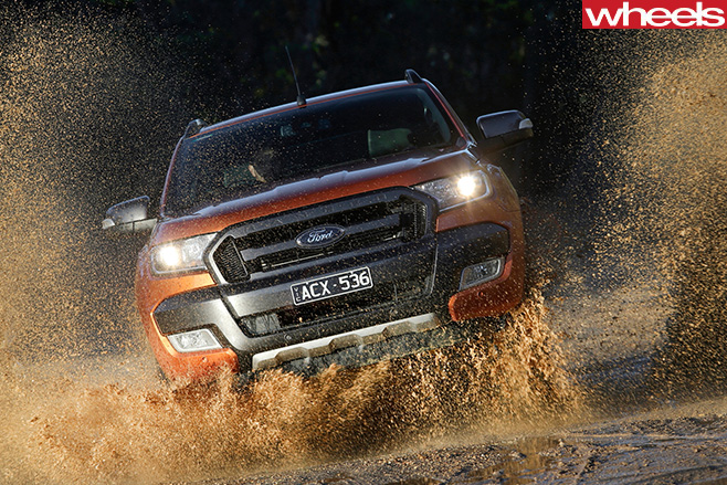 Ford -Ranger -driving -front
