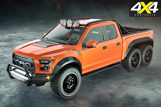Insane 6X6 Ford VelociRaptor from Hennessey