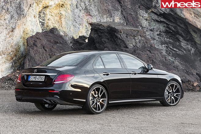 Mercedes -AMG-E43-rear