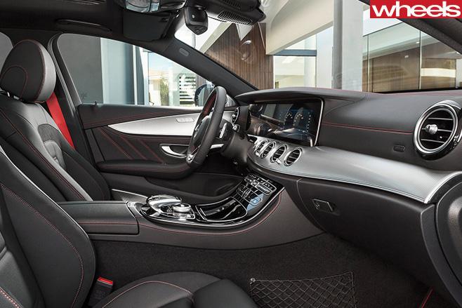 Mercedes -AMG-E43-interior