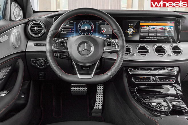 Mercedes -AMG-E43-steering -wheel