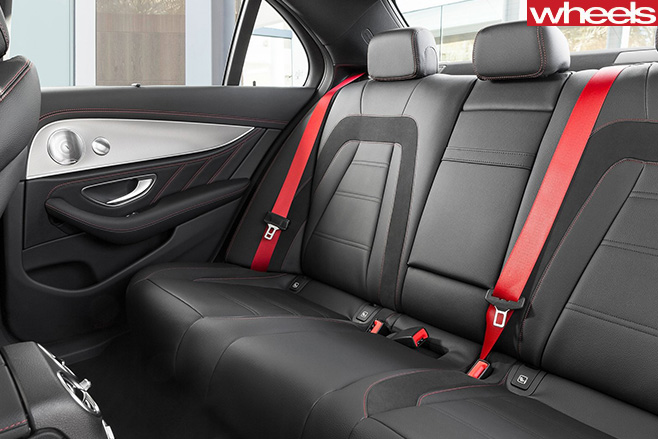Mercedes -AMG-E43-rear -seats