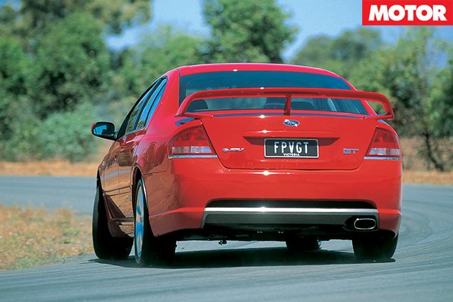 FPV GT rear