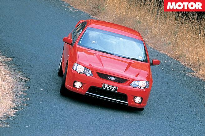 FPV GT driving road