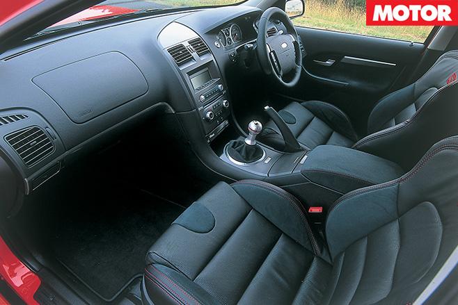 Ford FPV GT interior