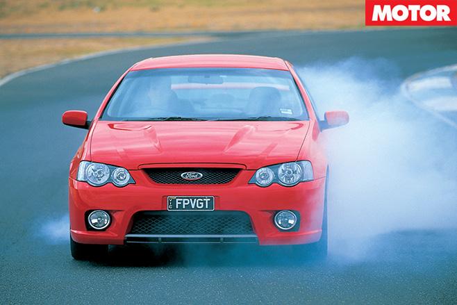 FPV GT burnout