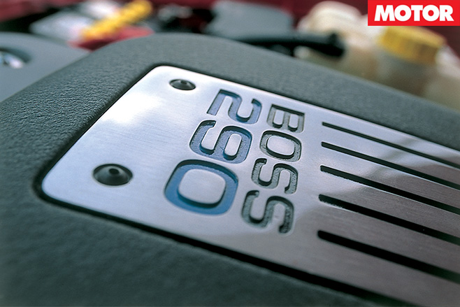 Boss 290 plate