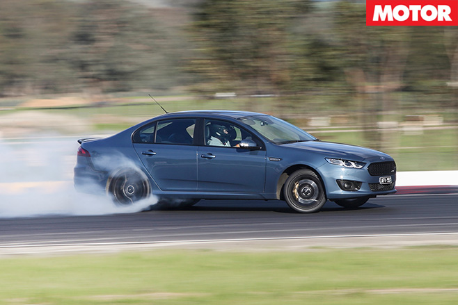 Ford Falcon XR6 Sprint drifting