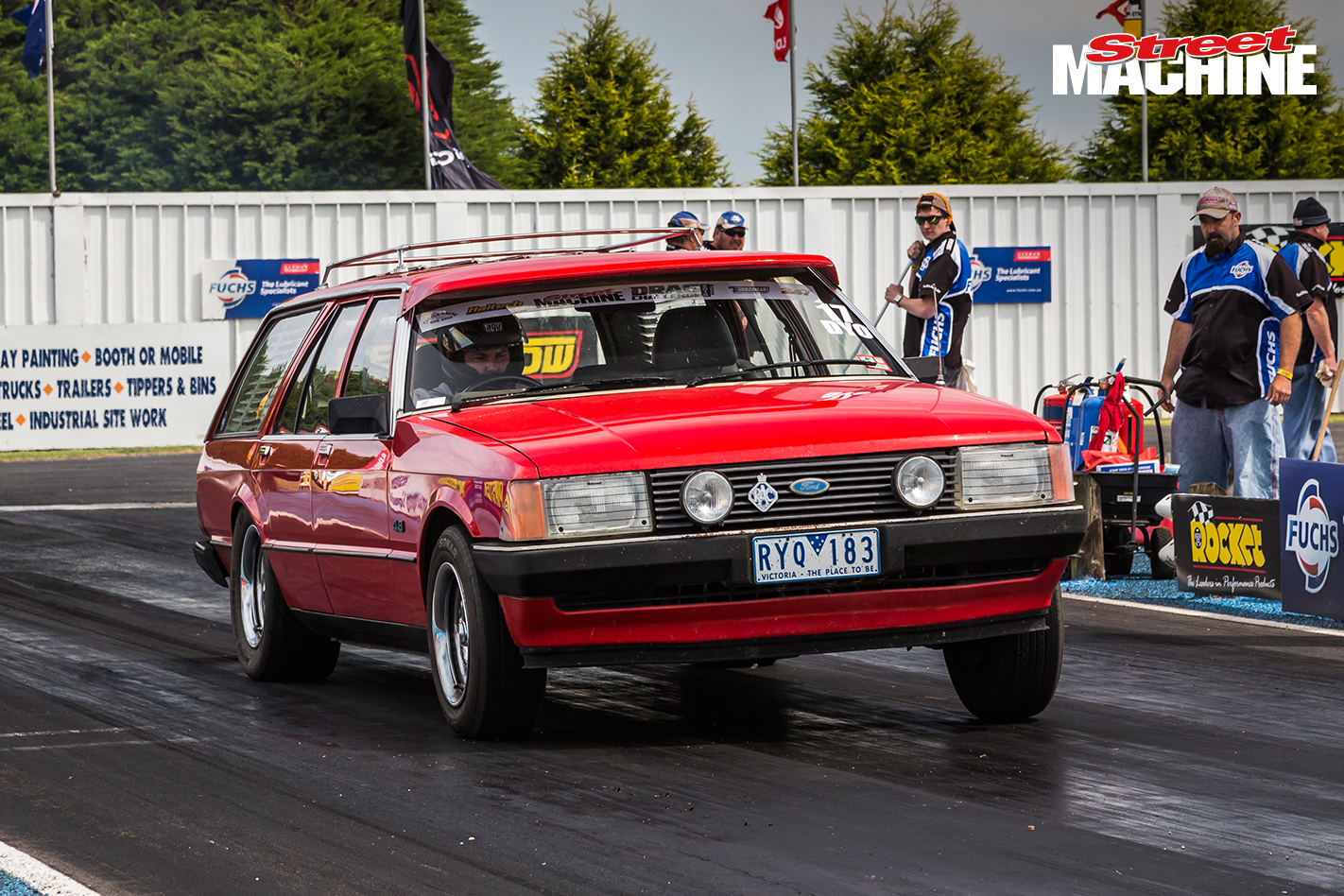 Ford XD Falcon Wagon LS Drag Challenge 2