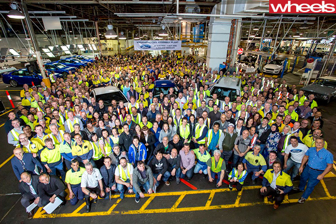 Ford -Australian -Facility -workers