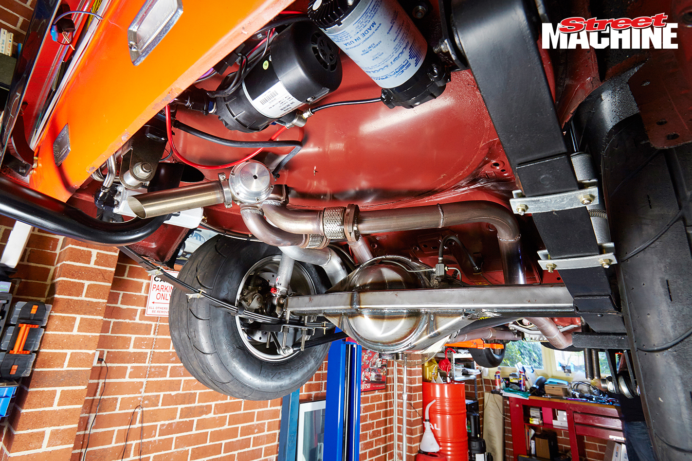 Ford Capri Turbo Undercarriage