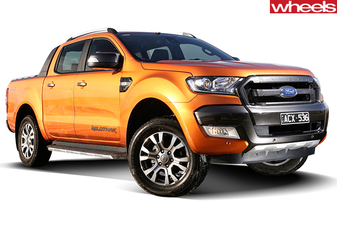 Ford -Ranger -side -front