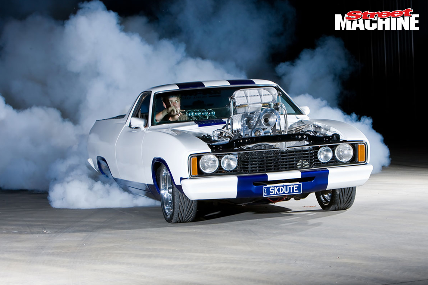 Ford XC Falcon Cobra Ute Burnout