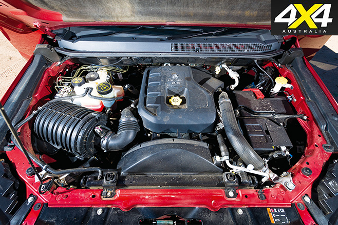 Holden colorado engine
