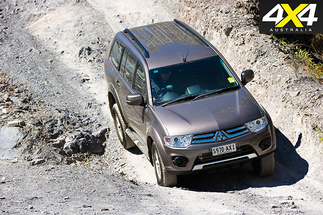 Mitsubishi Challenger offroad