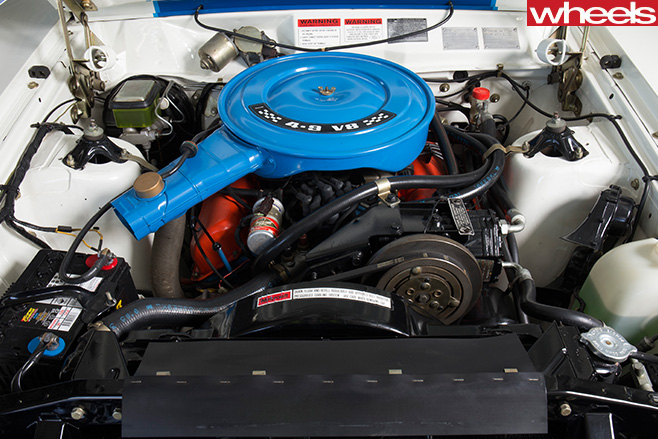 Ford -XC-Falcon -Cobra -engine