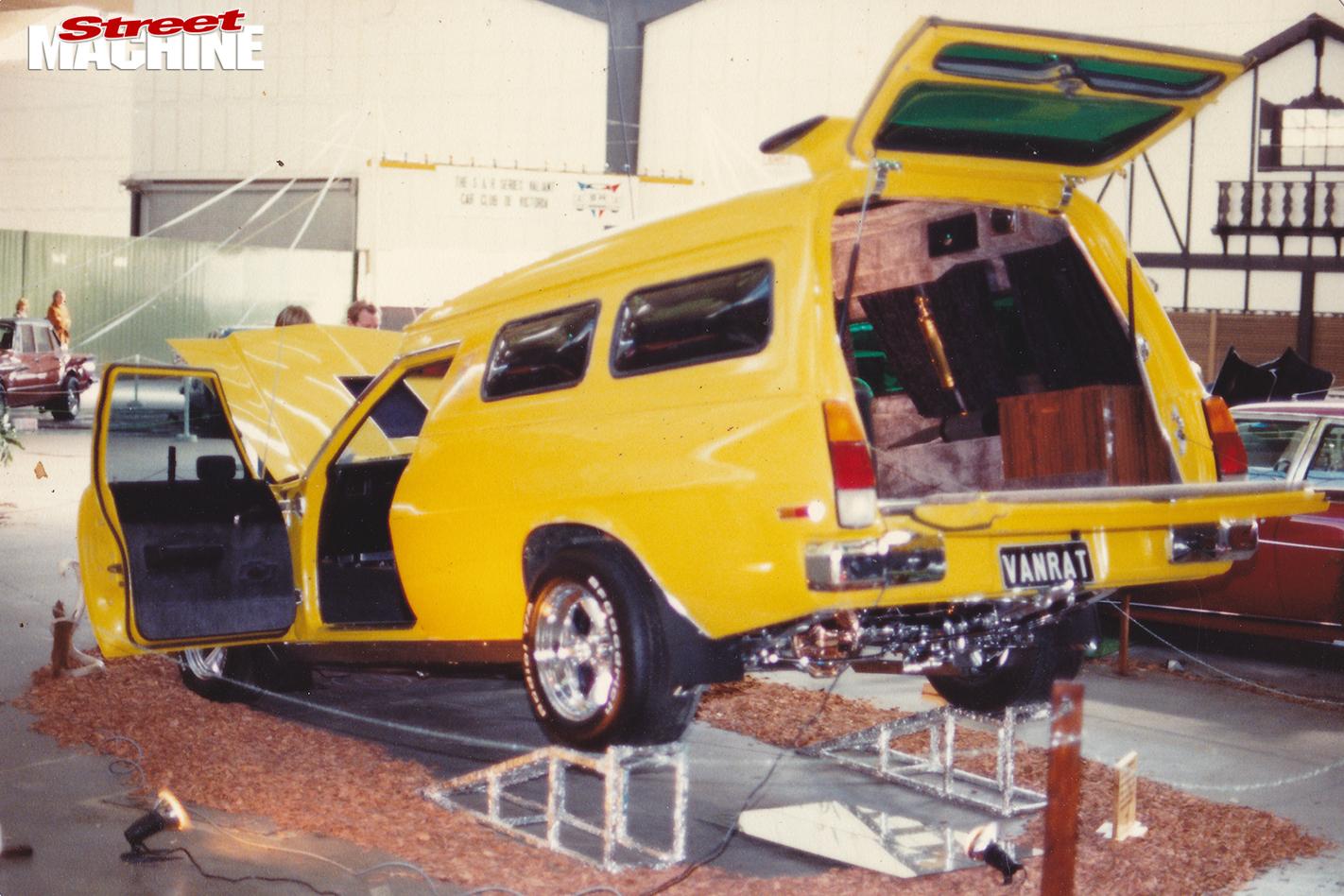 Van -rat -panel -van -show