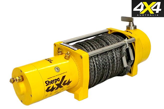 Sherpa 4x4 winch