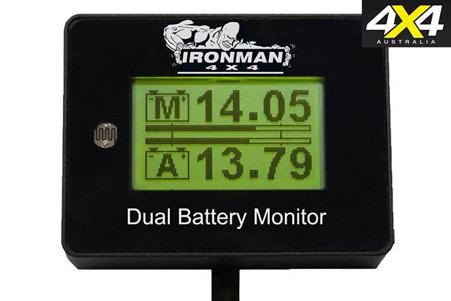 Dual battery monitor