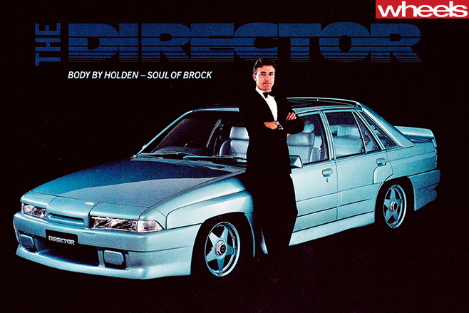 Peter -Brock -with -HDT-Director -promotional -material