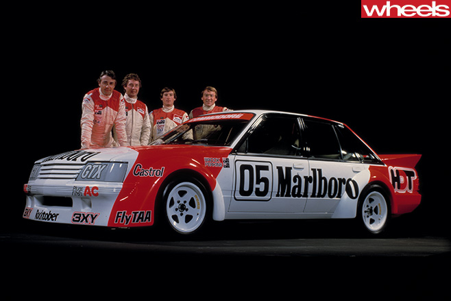 Peter -brock -HDT-team