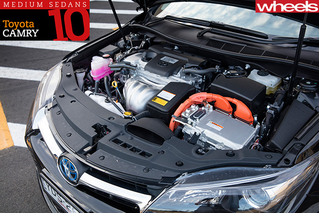 Toyota -Camry -engine