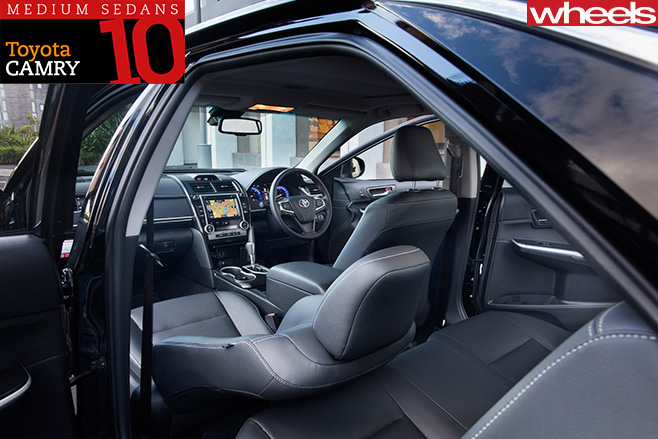 Toyota -Camry -interior