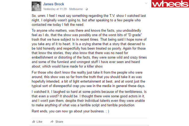 James -Brock -facebook -post