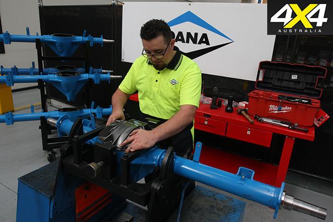4X4 Garage Dana Aus