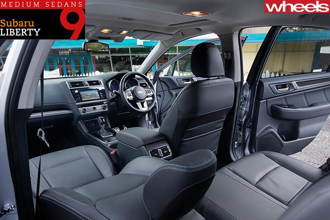 Subaru -Liberty -2-5-Premium -interior