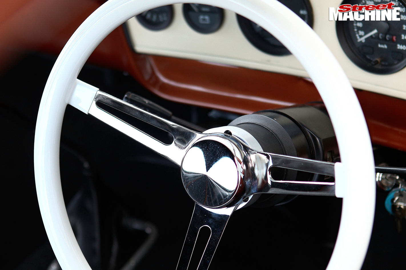 Ford -f 100-steering -wheel