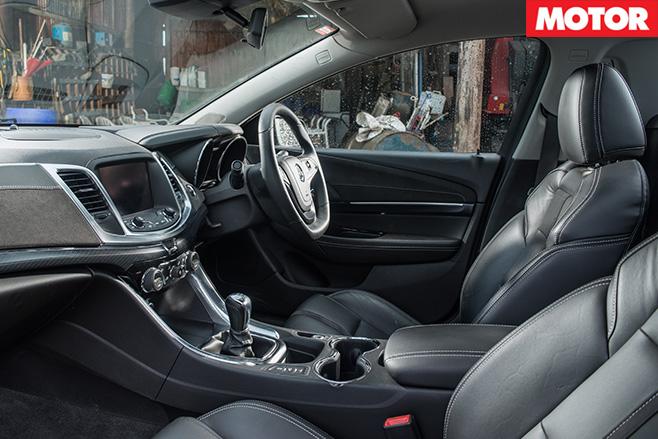 Holden SS-V redline ute interior