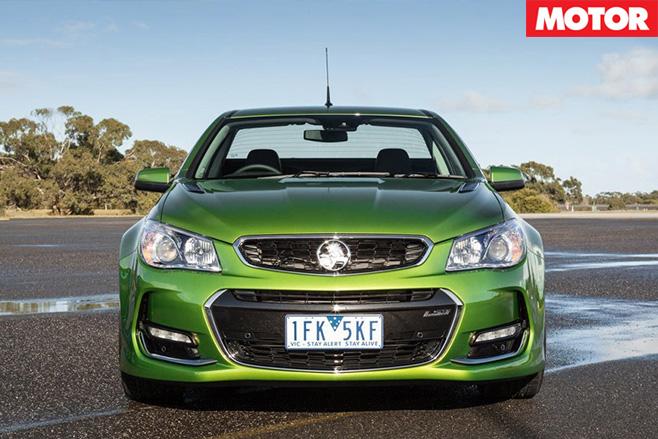 Holden SS-V redline ute front