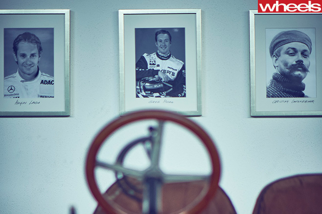 Mercedes -Benz -Classic -F1-race -car -drivers