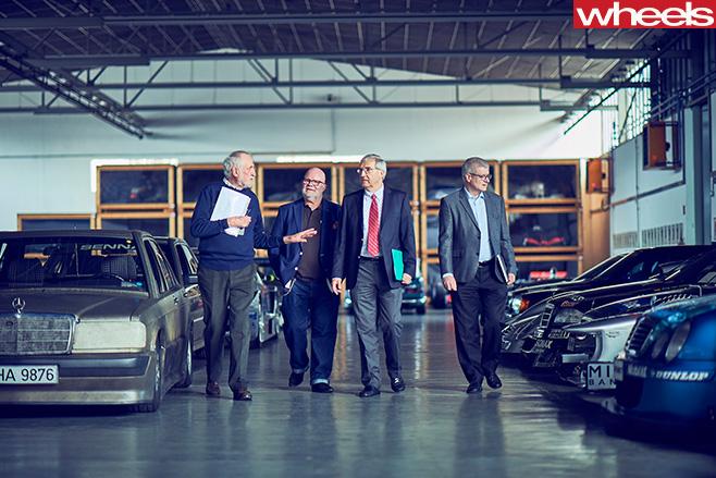 Mercedes -Benz -Classic -Car -Centre -Holly -Halls -tour