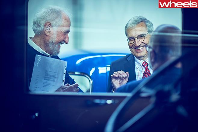 Mercedes -Benz -Classic -Car -Centre -Holly -Halls -tour -vehicles