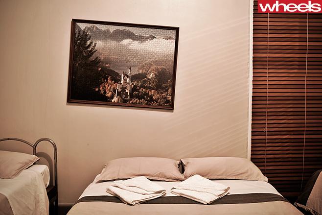 Mercedes -Benz -SLS-Cup -trip -hotel -bed