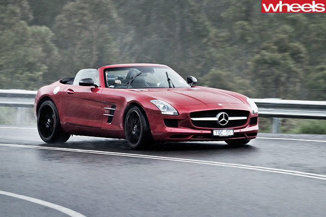 Mercedes -Benz -SLS-Cup -convertible -front -side