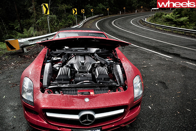 Mercedes -Benz -SLS-Cup -6-3L-engine