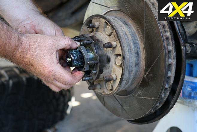 33 Install Bearing Nut