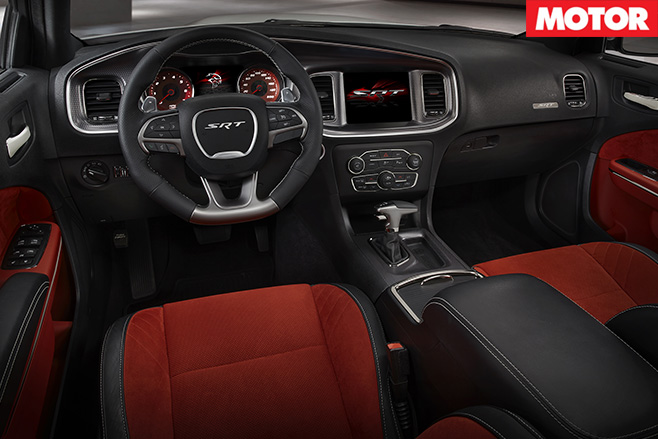 Dodge Challenger SRT interior